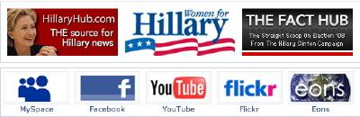 Réseaux sociaux d'Hillary Clinton