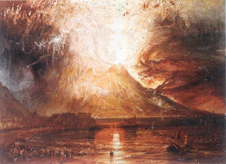 Eruption du Vesuve