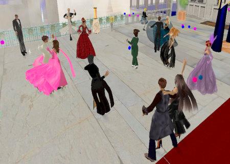 Bal dans Second Life