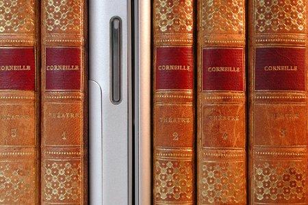 Livres et tablette