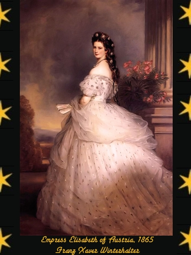 Empress Elisabeth of Austria - Franz Xaver Winterhalter - 1865