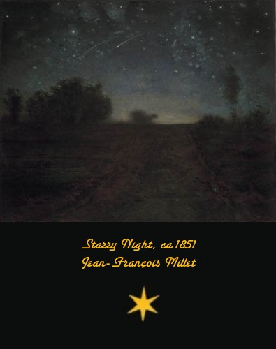 Starry Night - Jean-Franois Millet - ca. 1851