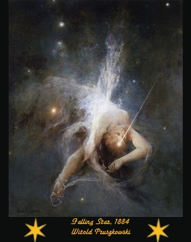 Falling Star - Witold Pruszkowski - 1884